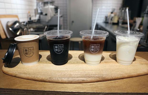 藤棚デパートメントオリジナルコーヒーも。