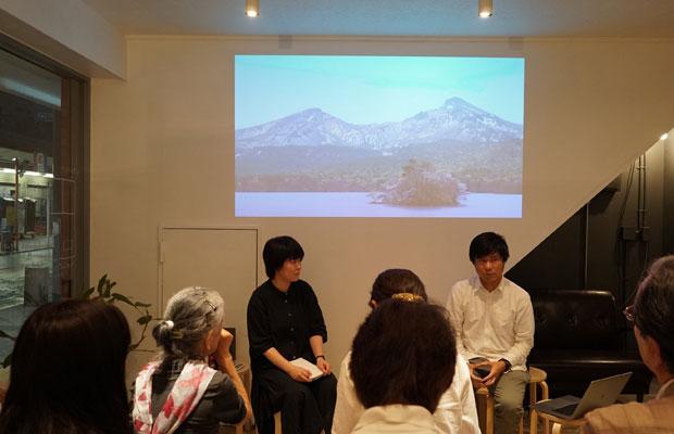 斎藤さん企画の映画上映会では、映像作家さんを呼んでのトークショーも。