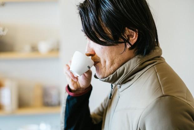 焙煎時に一番いいタイミングで窯出しした豆で淹れる、徳山コーヒーボーイのコーヒーは甘みが強いのが特徴。