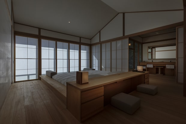 〈Azumi Setoda〉の客室。Photo Tomohiro Sakashita
