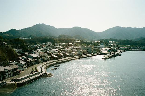 瀬戸田の沿岸。Photo Max Houtzager
