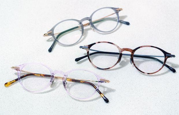 「G.M.S.シリーズ」40700円。バリエーションは4型各3〜4色展開。
