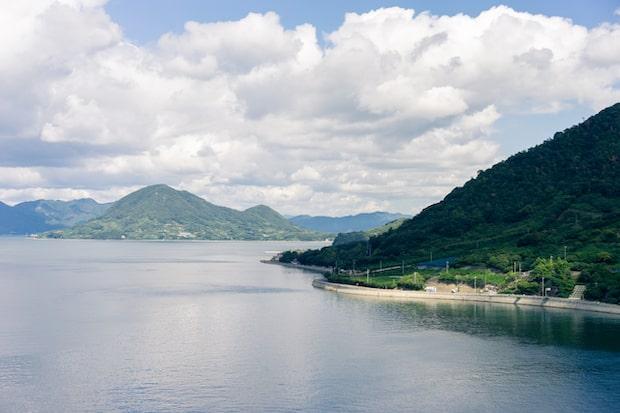 瀬戸田の美しい自然。