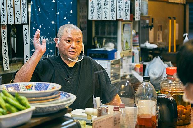 海外経験もありながら生家である店を継いだ奥野木さん。帰ってきた理由は「俺が行きたい店をつくりたかった。よく見ればそれがここだったんですね」