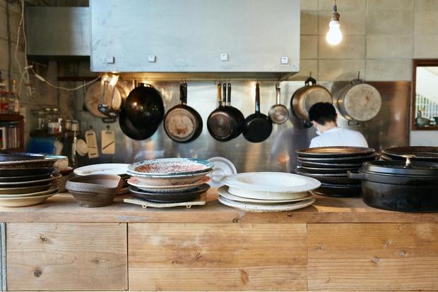 オープンキッチンなので、調理の様子を見ることができて安心。