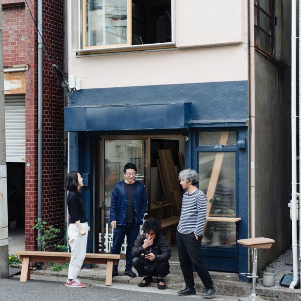 Kiezのメンバー。左から、吉田ゆう、小泉瑛一、加藤甫、永田賢一郎。
