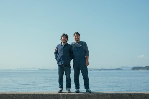 〈ITONAMI〉の山脇耀平さん(写真左・兄)と島田舜介さん(写真右・弟)。
