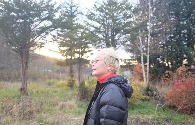 「道北の風景は美流渡はとはまた違う」、下川町を訪ねMAYAさんは語った。