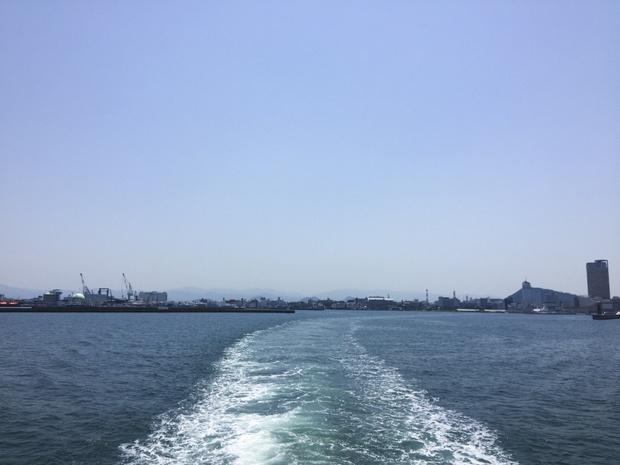 豊島へ向けて出発!