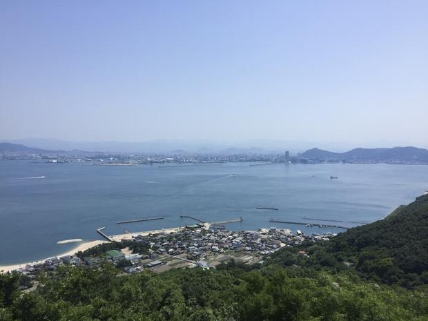 こちらも女木島から。豊島美術館周辺は神聖すぎて写真が撮れませんでした……。