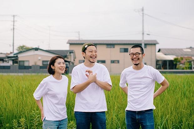 左からhaccobaメンバーの佐藤みずきさん、代表の佐藤太亮さん、立川哲之さん。