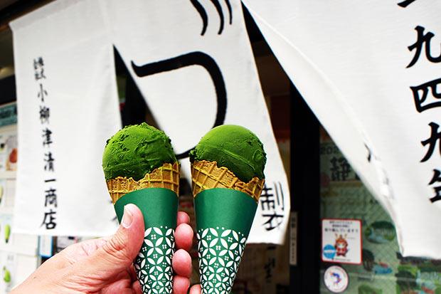 「深濃抹茶(ふかこいまっちゃ)」シングル600円