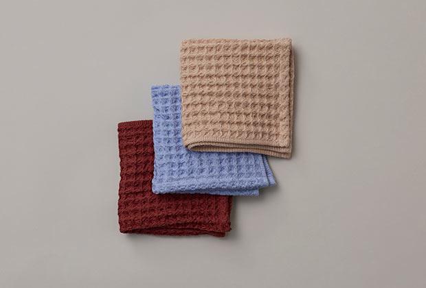 JUNIOR Towel set ¥3,300 (税込) 。