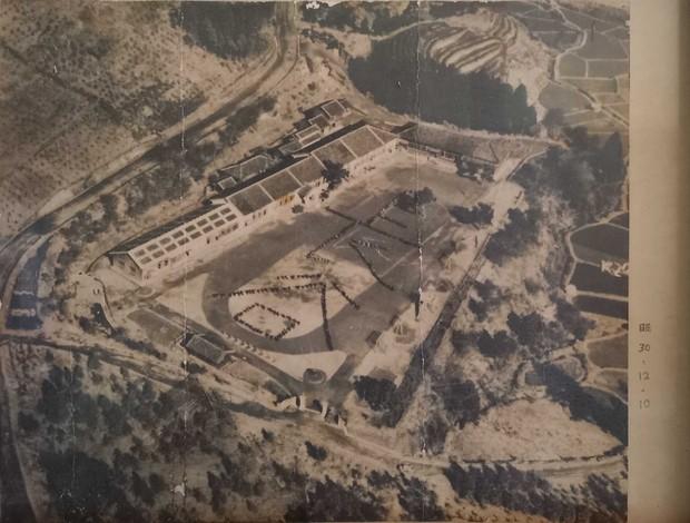 昭和30年代の森の学校の様子。