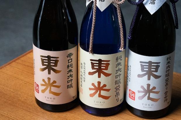 代表銘柄は〈東光(とうこう)〉。世界19か国に輸出され、国内外で高い評価を受けています。名前の由来は「米澤城の東側、朝日が昇る方角の酒」。