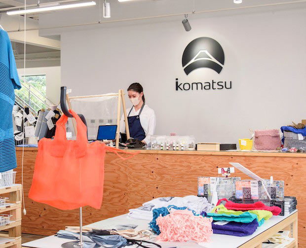 〈小松マテーレ〉の工場直販型ファクトリーショップが石川県能美市にオープン