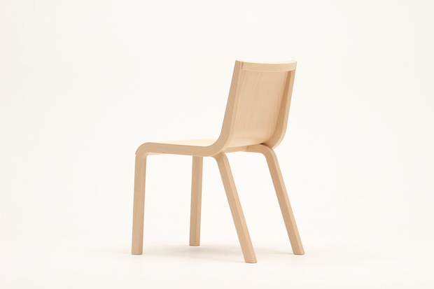 PLYPLY Design by Wataru Kumano チェア ナラ[ST色] W428 D572 H781 SH454 96800円