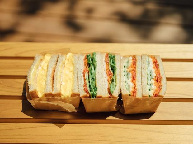 サンドイッチ各種 700円