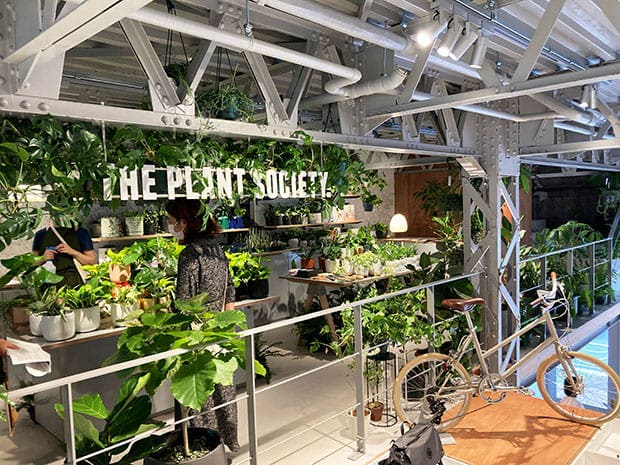 The Plant Society Tokyo Flagship