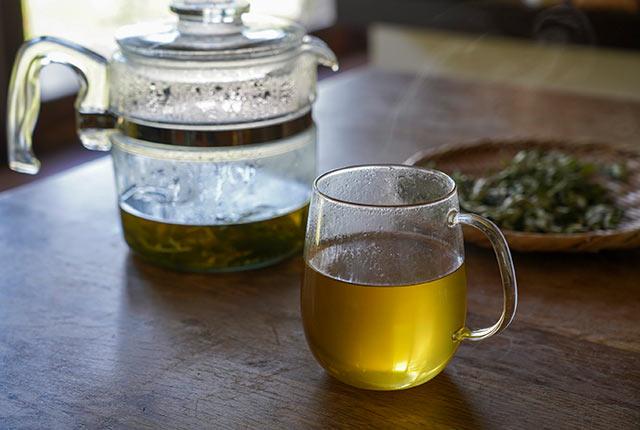 よもぎの葉のお茶