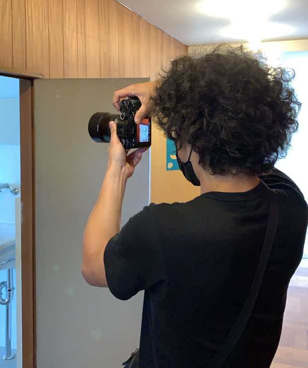 〈野毛山Kiez〉のメンバーである加藤甫くんには当日の撮影を。