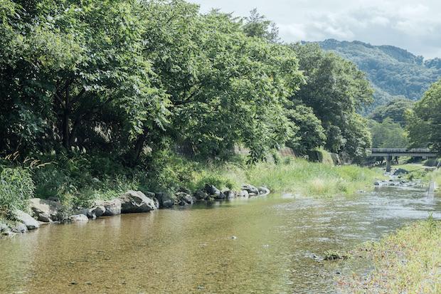 〈NONIWA〉を拠点に、三波渓谷や弓立山などトレッキングコースも案内している。