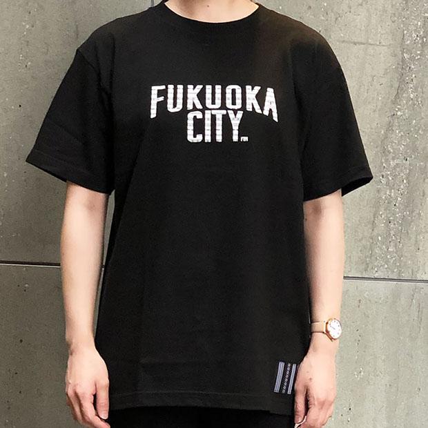 「FUKUOKA CITY 博多織コラボ」¥ 4070(税込)Design by FTM Tシャツ