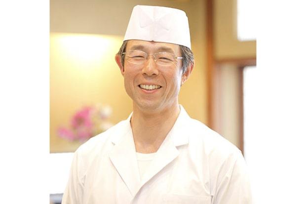 割烹滝川の店主・阿部司さん