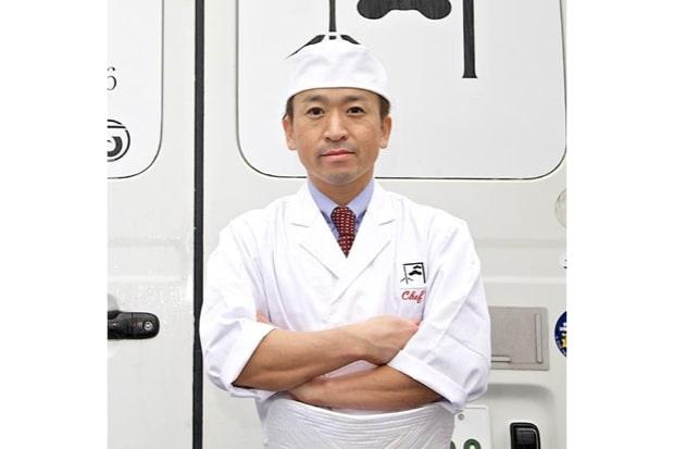 松竹の店主・阿部久利さん
