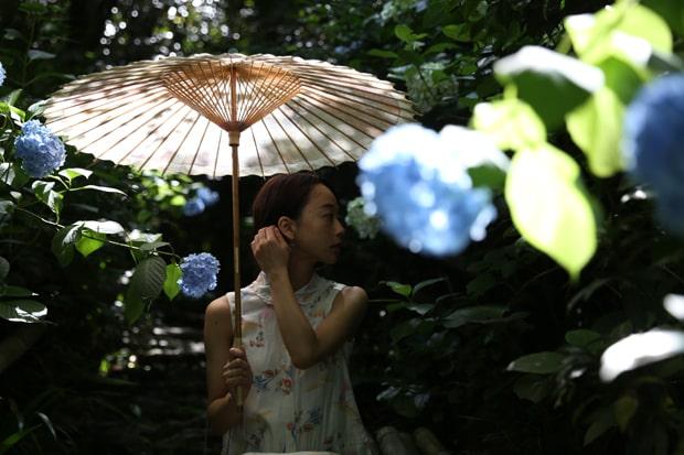 雨傘だけでなく日傘のバリエーションも豊富な岐阜和傘。