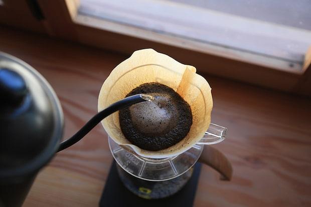 〈Sailing Coffee〉のドリンクメニューはペーパードリップコーヒー、エスプレッソ、カフェラッテなど。