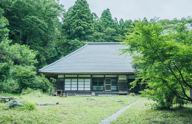 香取市の志村さんの住居兼アトリエ。