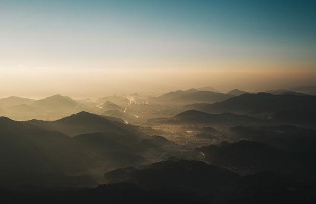 日南の自然(乱杭野山頂・霧島神社から)。
