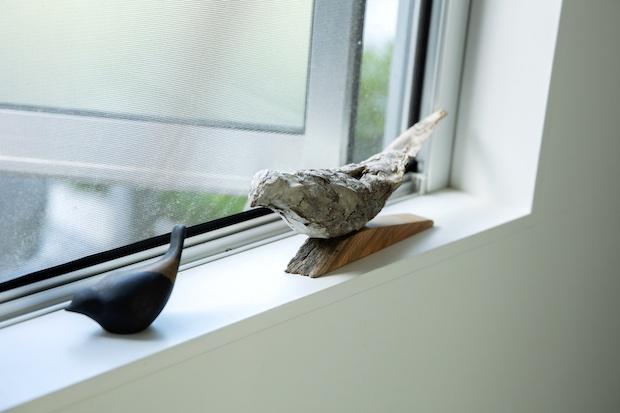 川内邸には、鳥を象ったアイテムが多い。
