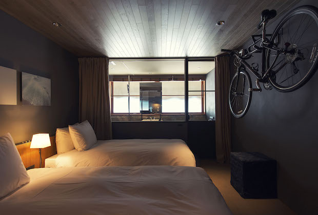 ホテルには自転車を持ち込める