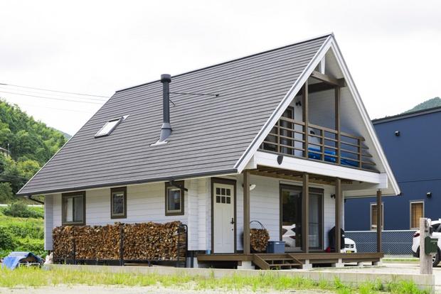 木造りの温かみと、洗練されたデザインの両立が人気のG-LOG。