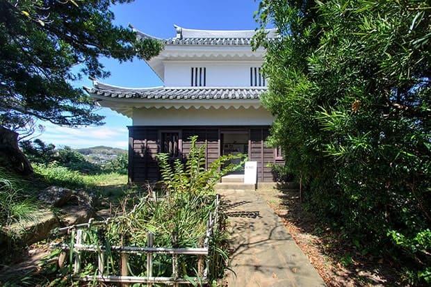 平戸城地蔵坂櫓。