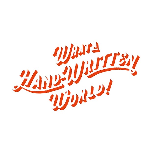 黒板描きチョークボーイが2018年に立ち上げた、手描き結社〈What a Hand-Written World ! 〉(すばらしき手描きの世界の意)。頭文字をとって略称〈WHW!〉。複数のアーティストが在籍し、見える価値も見えない価値も手で描いて表現していく、をモットーに活動している手描きに特化した技能集団です。